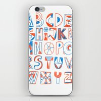 PlayFull Alphabet iPhone & iPod Skin