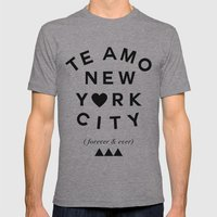 (EXTRA BOLD) TE AMO NEW … Mens Fitted Tee Athletic Grey SMALL