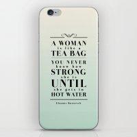 Strong Tea iPhone & iPod Skin