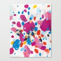 Fuchsia Physics Canvas Print