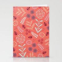 Little Ladybugs Stationery Cards