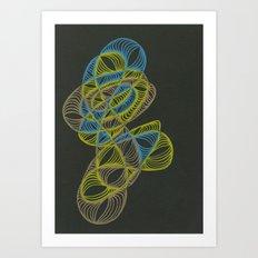 Small Nebula One Art Print