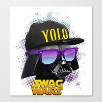 Darth Vader Swag Canvas Print