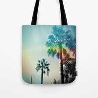 Palm Trees Of Barcelona Tote Bag