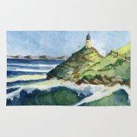 Peaceful Lighthouse V Rug