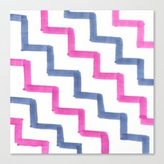 Missoni Stairs Canvas Print