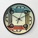 4 bug - VW beetle Wall Clock
