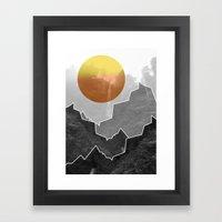 The Waterfall Framed Art Print