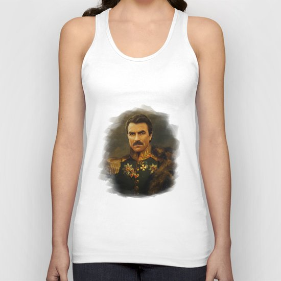 Tom Selleck - replaceface Unisex Tank Top