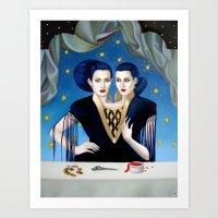 Daughters of Maternal Impression Art Print