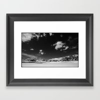 Gran Sasso Framed Art Print