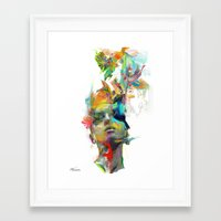 Framed Art Prints featuring Dream Theory by Archan Nair