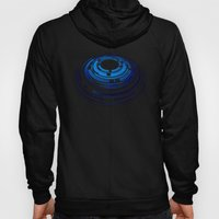 Abstraktion In Blau Hoody