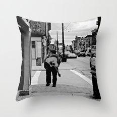 Life In a Guitar Town Throw Pillow