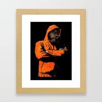You Got A Problem? V2 Framed Art Print