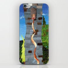 Let her hair down iPhone & iPod Skin