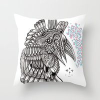 Fright 2 Throw Pillow