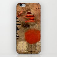GEISHA SAD SONG iPhone & iPod Skin