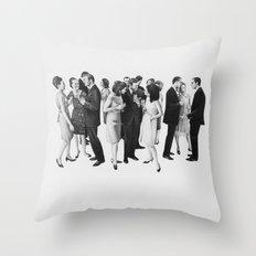 the cold war Throw Pillow