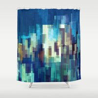 City Nights Shower Curtain