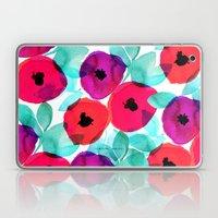 Pretty Pink Floral Laptop & iPad Skin