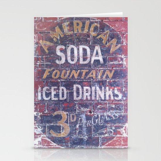 American Soda Stationery Card