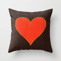 Love Handles Throw Pillow