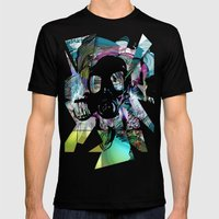 Gas Mens Fitted Tee Black SMALL