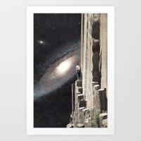 Beautiful Cosmos Art Print