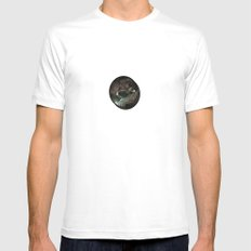 the dark crystal SMALL Mens Fitted Tee White