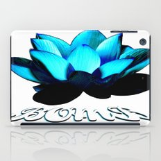 Lotus Flower Bomb iPad Case