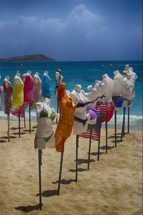Beach bodies Art Print