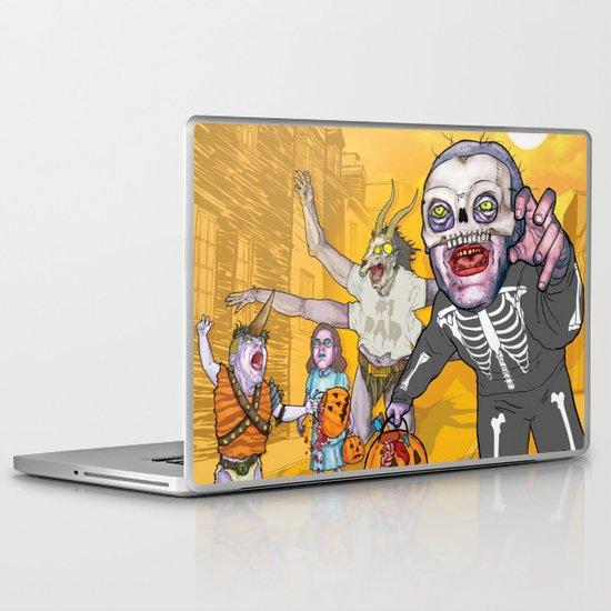 Trick or Tremble Laptop & iPad Skin