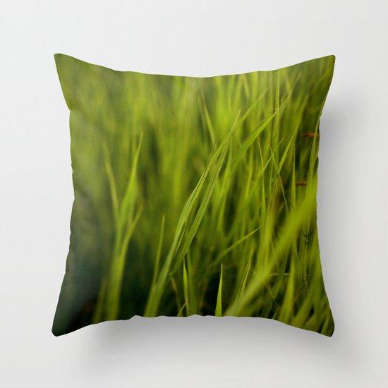 Greener #2 Throw Pillow