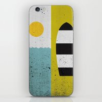 Sun & Board iPhone & iPod Skin
