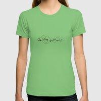 #413 Sunken City – Geo… Womens Fitted Tee Grass SMALL