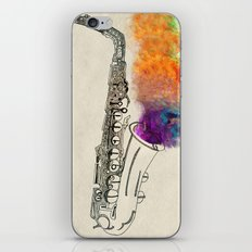 SAX iPhone & iPod Skin