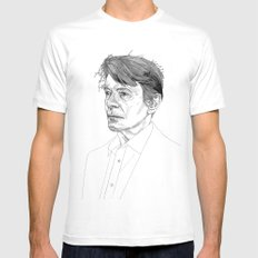 Bowie SMALL White Mens Fitted Tee
