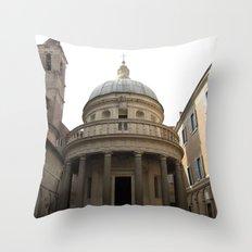 Bramante's Tempietto Throw Pillow