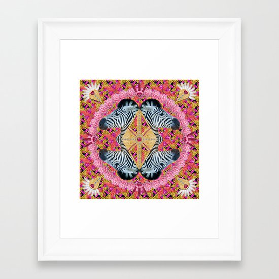 ▲ YAMKA ▲ Framed Art Print