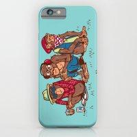 Three Wise Hipster Monkeys iPhone 6 Slim Case