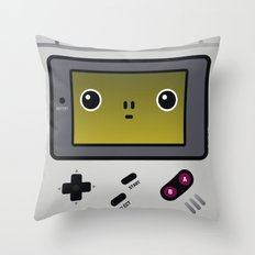 game boy Throw Pillow