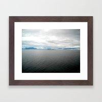 Cruising Framed Art Print