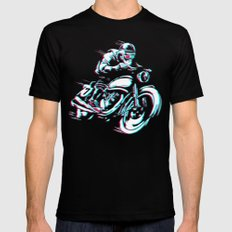 HIPSTER HOT RIDE SMALL Black Mens Fitted Tee
