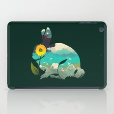 Rabbit Sky - (Forest Green) iPad Case