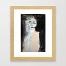 Grey Death Framed Art Print
