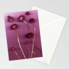 Purple Chia Stationery Cards