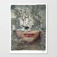 A Chemical Winter Canvas Print
