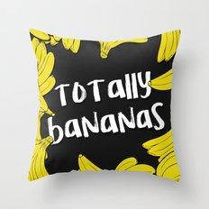 TOTALLY BANANAS II Throw Pillow