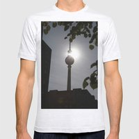 Berlin NO.1 Mens Fitted Tee Ash Grey SMALL